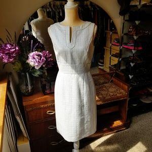 Metallic Tahari Dress
